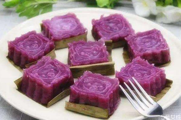 紫薯山药糕可以做宝宝辅食吗