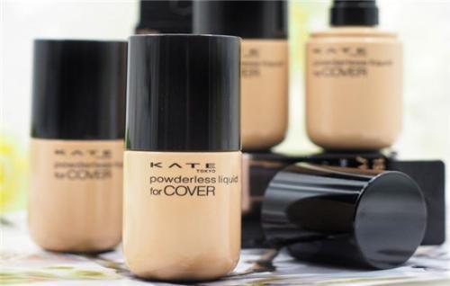 kate美肌隐形粉底液好用吗 kate美肌隐形粉底液的上妆手法