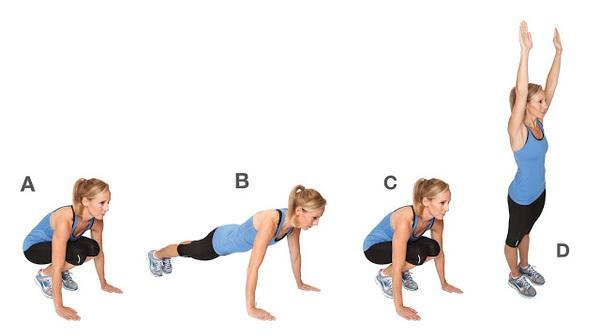波比跳做多久能达到减肥效果 波比跳能锻炼哪些部位