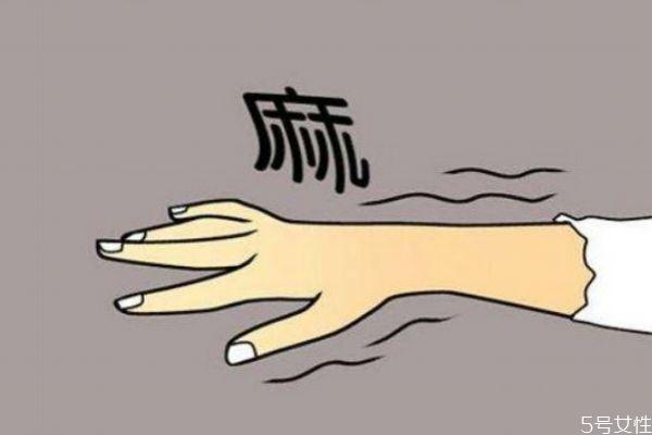 手脚容易发麻的原因有什么 为什么手脚容易发麻