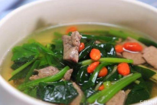 产妇可以喝猪肝汤吗 产妇喝猪肝汤怎么做