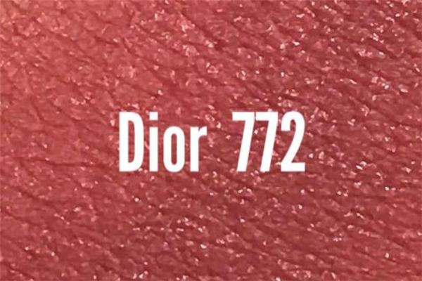 迪奥772试色 迪奥772专柜价格