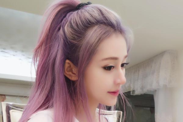 薰衣草紫发色适合什么肤色 薰衣草紫发色显黑吗