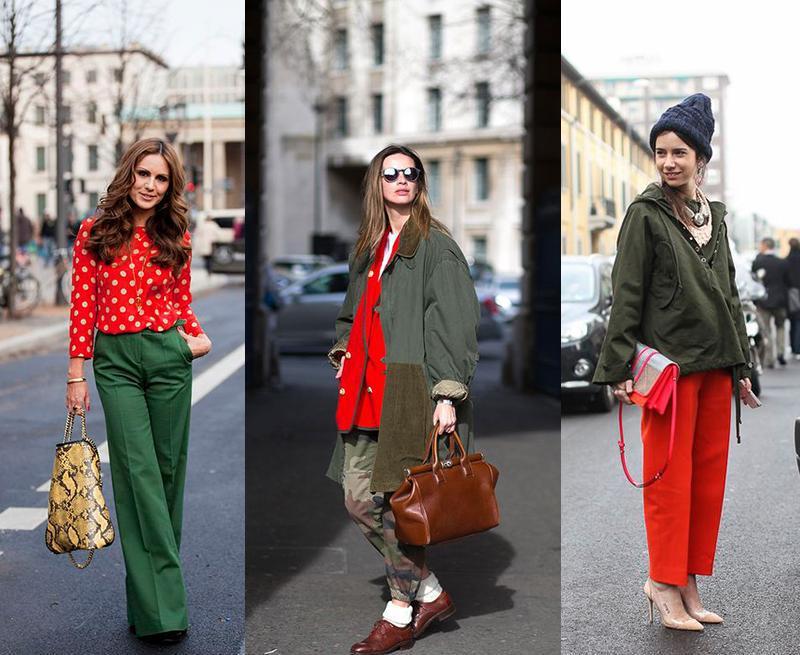 红色包包配绿色衣服好看吗 红色包包搭配绿色衣服的技巧