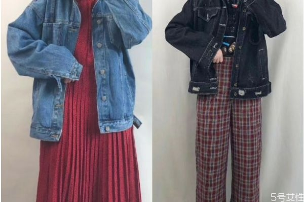 牛仔外套怎么搭配裤子好看 牛仔外套应该怎么搭配