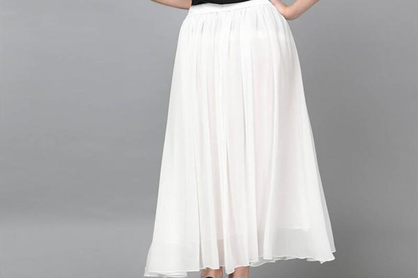 白色真丝长裙怎么搭配上衣 白色真丝长裙适合什么上衣