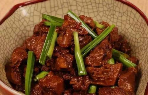 干烧牛肉片怎么做 干烧牛肉片的做法