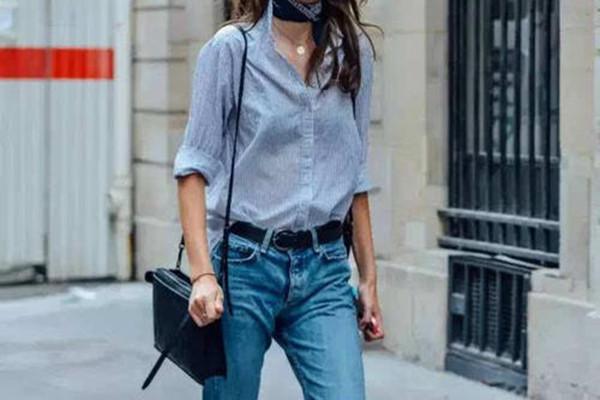 横条纹衬衫和竖条纹衬衫哪个显瘦 条纹衬衫的搭配方法