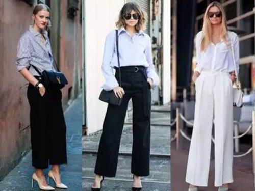 衬衫怎么搭配阔腿裤 衬衫搭配阔腿裤的方法