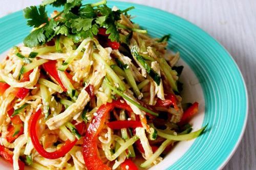 鸡丝黄瓜怎么做好吃 鸡丝黄瓜的做法