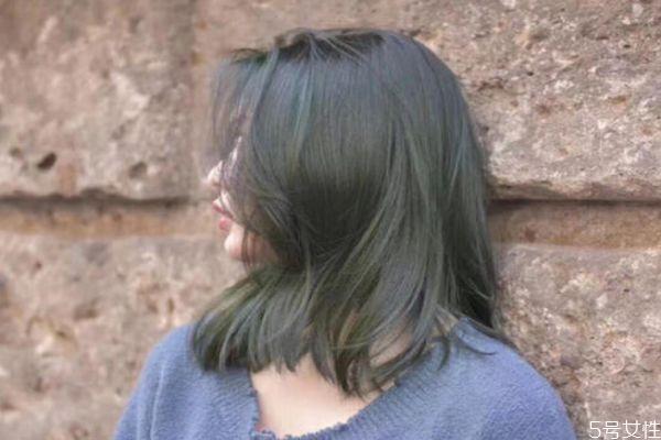 闷青色绿色几天能洗掉 染发后做护理好吗