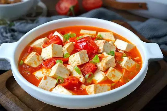 番茄豆腐怎么做好吃 番茄豆腐的做法