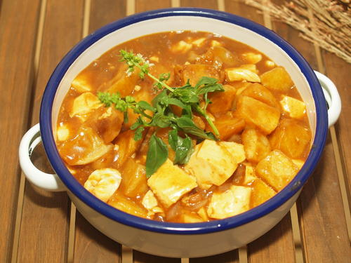 咖喱豆腐怎么做 咖喱豆腐的做法