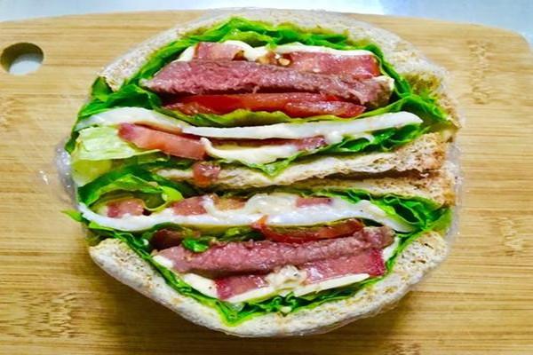 减脂三明治怎么做好吃 减脂三明治的做法