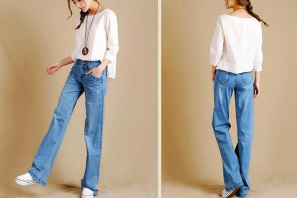 直筒牛仔裤是老爹裤吗 直筒牛仔裤的优点