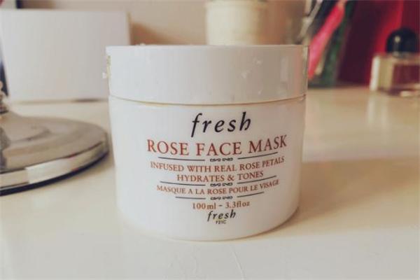fresh玫瑰面膜成分 fresh玫瑰面膜敏感肌可以用吗