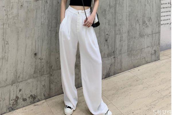 白色阔腿裤有点透怎么办 白色阔腿裤有点透怎么解决