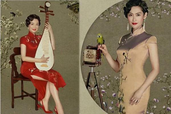 不同气质应该怎样选旗袍 旗袍要怎样选择外搭