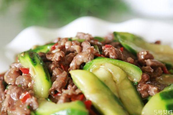 小炒牛肉怎么做好吃 小炒牛肉的美味做法