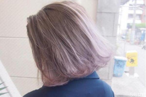 头发薄藤色是什么颜色 薄藤色掉色后是什么颜色