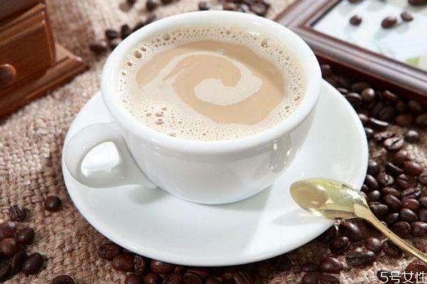 白咖啡热量高吗 白咖啡热量有多少