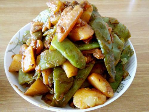 豆角炖土豆怎么做 豆角炖土豆的做法