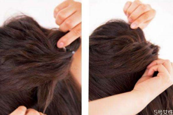 前面头发怎么扎蓬松好看 蓬松发型怎么扎