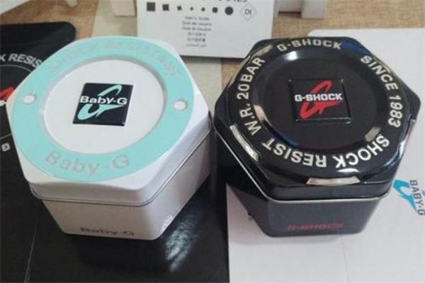 卡西欧手表盒子上有防伪码吗 卡西欧纸盒包装是正品吗