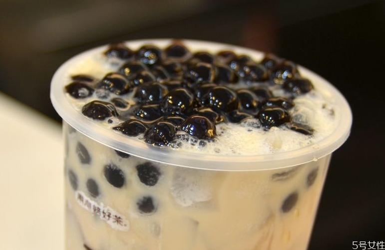 珍珠奶茶的珍珠容易胖吗 喝一次会胖几斤