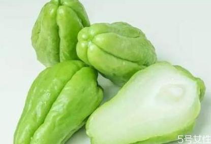 孕妇可以吃佛手瓜吗 佛手瓜怎么做好吃