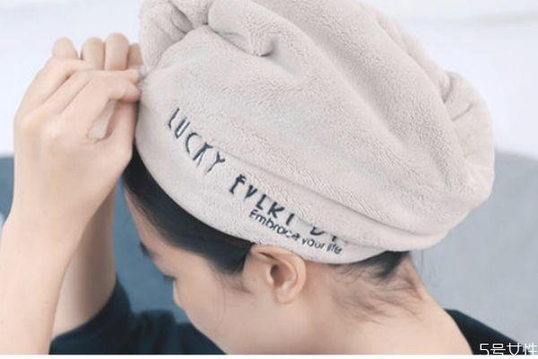 干发帽几分钟让头发变干 干发帽不宜久戴