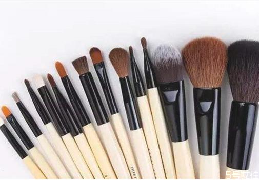 化妆刷不上色是刷子不好吗 常见化妆刷的使用和清洗