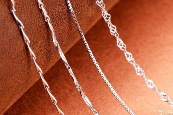 纯银项链一般多少钱 纯银项链怎么鉴定真假