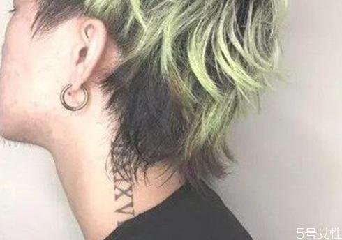 狼尾前期怎么剪 什么样的人适合留狼尾发型