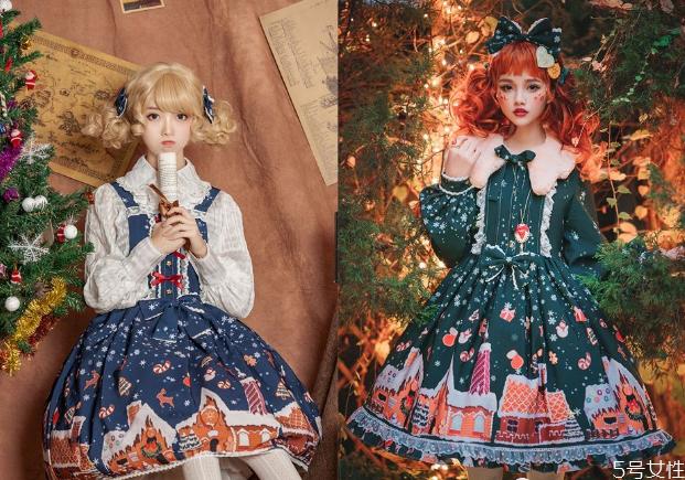 圣诞节穿的洛丽塔 圣诞lolita推荐
