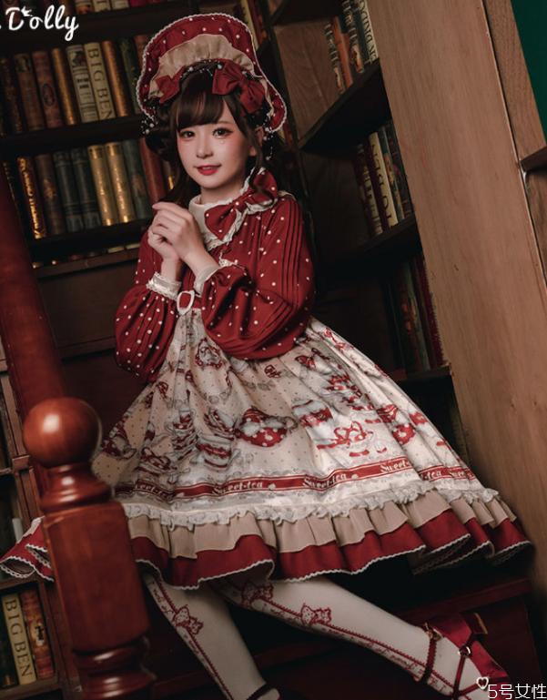 圣诞节的lolita裙 圣诞风lo裙