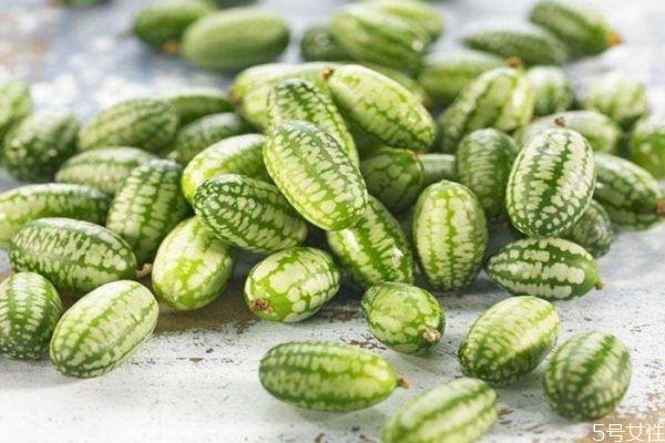 拇指西瓜是什么味道的 拇指西瓜的功效与作用