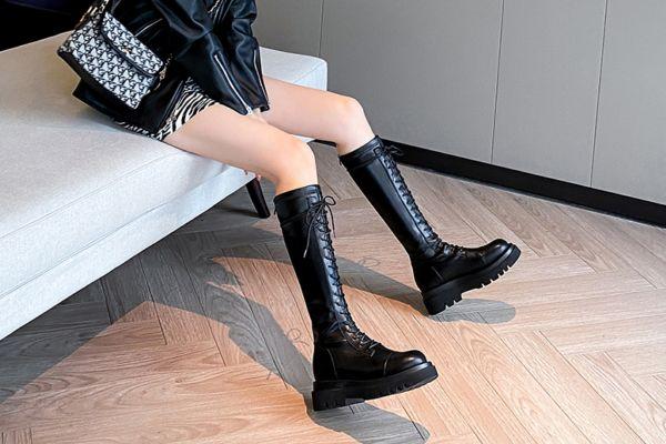骑士靴适合多高的人穿 骑士靴和马丁靴的区别