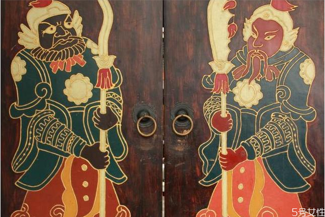 门神是哪两位 中国有多少个门神