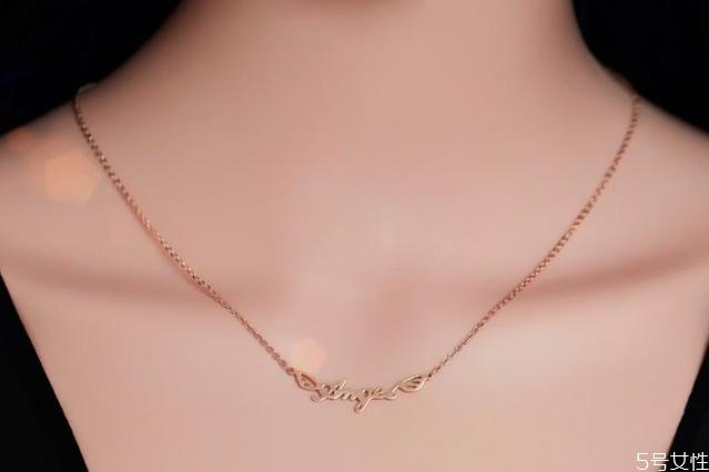 锁骨链一般多长合适 锁骨链尺寸一般是多长
