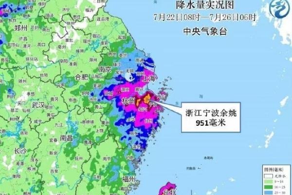 余姚雨量破浙江省台风雨量极值 台风的形成原因是什么