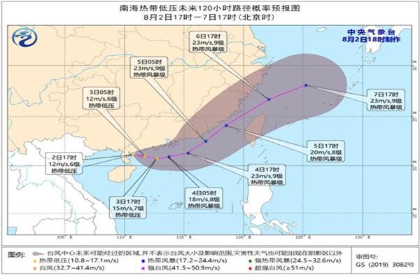 台风卢碧登陆广东 台风是多少级
