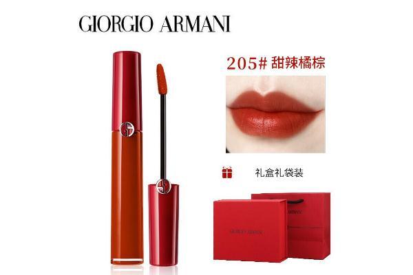 阿玛尼唇釉多少钱 阿玛尼唇釉必入色号