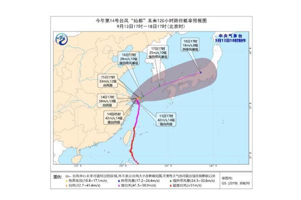 台风登陆时风力减弱说明什么 台风灿都登陆上海
