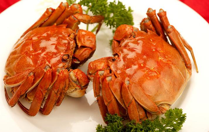 螃蟹里面黑黑的是什么能吃吗 螃蟹怎么蒸不掉腿